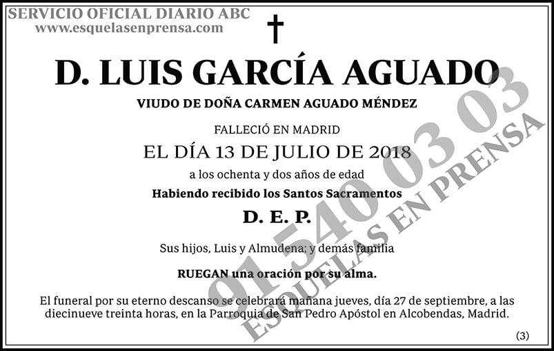 Luis García Aguado